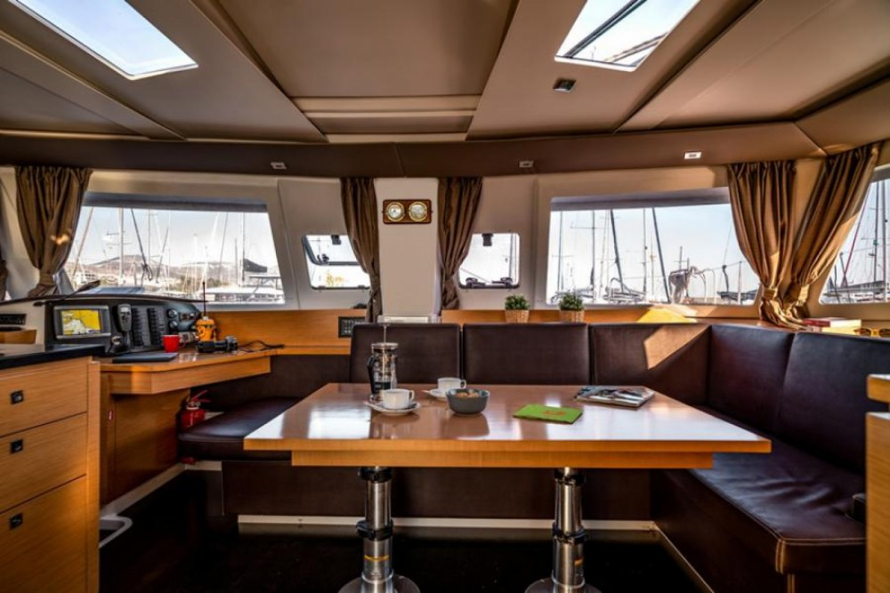 Boat rental Fountaine Pajot Helia 44 in Athens on Samboat
