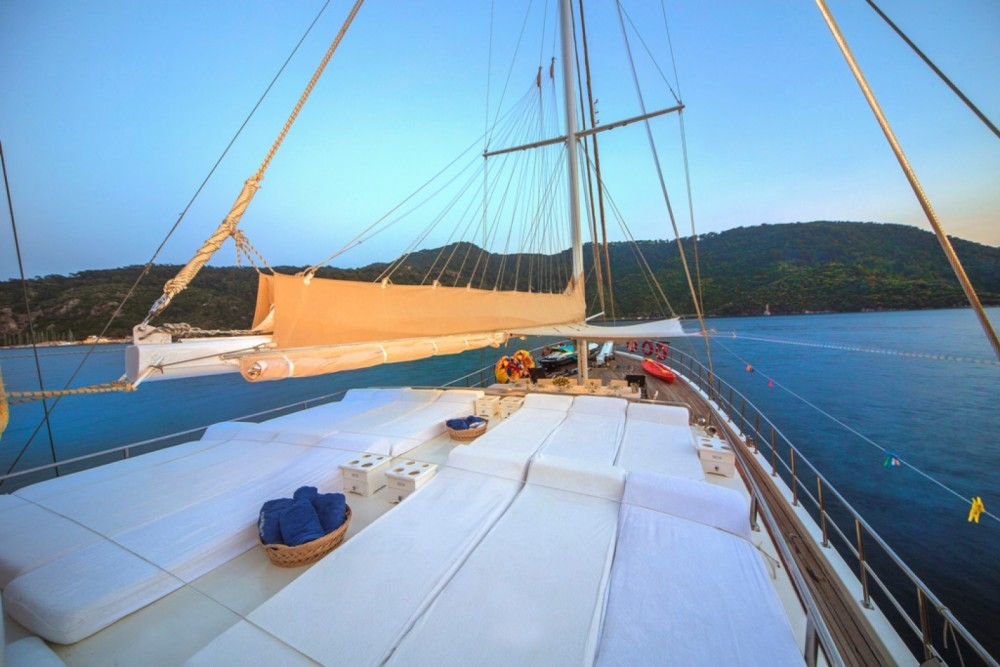 Marmaris Ketch between personal and professional