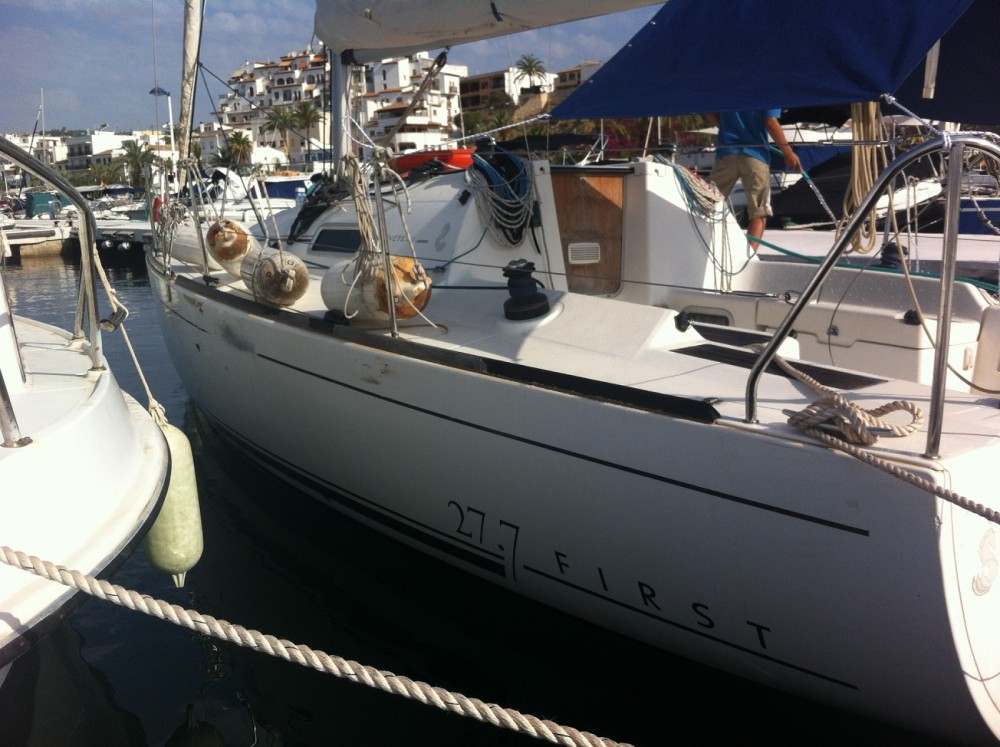 Boat rental Teulada cheap First 27.7