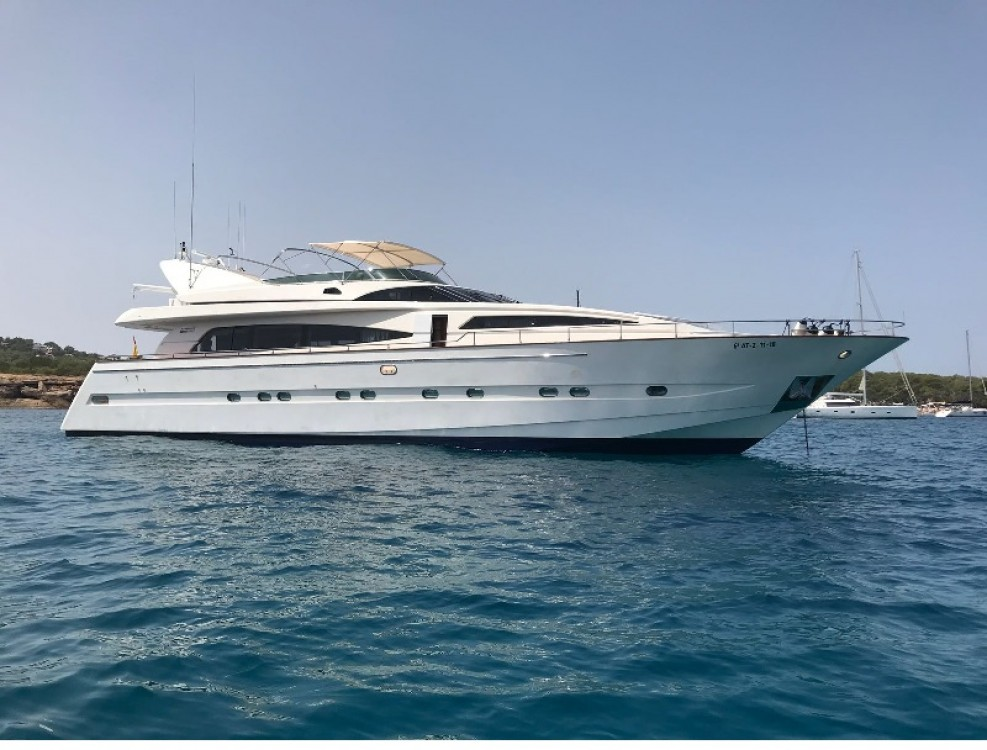 Hire Yacht with or without skipper Astondoa Dénia