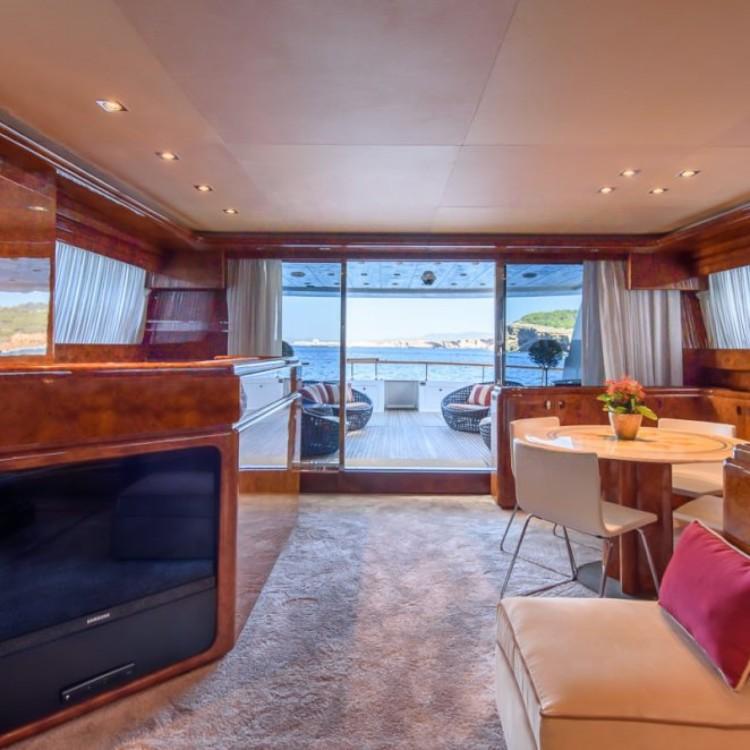 Boat rental Dénia cheap mondomarine 120