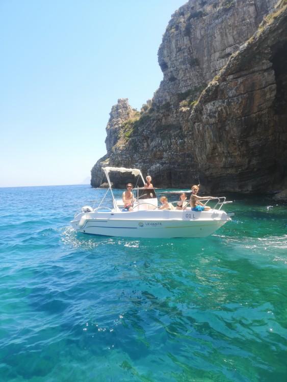Boat rental Balestrate cheap open 19