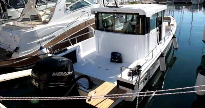 Rental yacht Trogir - Axopar 28 cabin on SamBoat