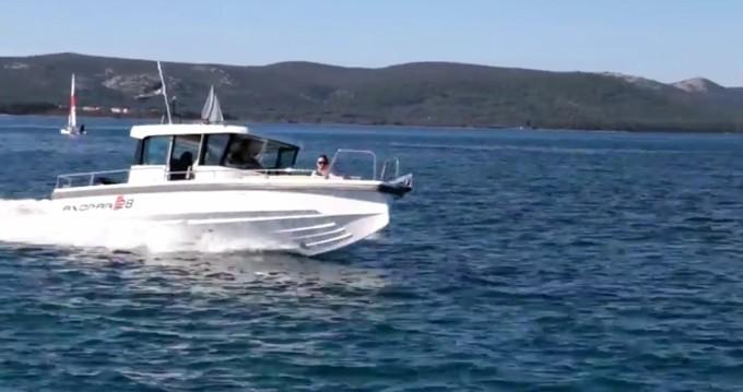 Boat rental Axopar 28 cabin in Trogir on Samboat