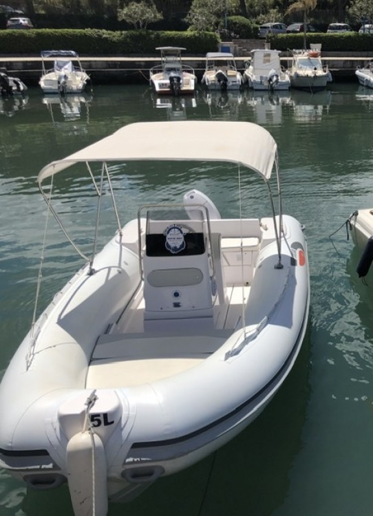 Hire RIB with or without skipper Selva Tropea