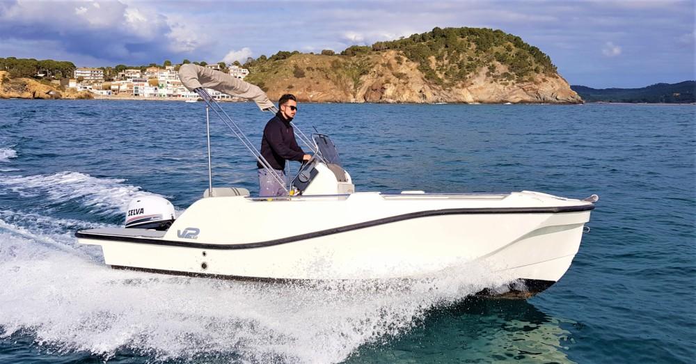 Boat rental Palamós cheap 5.0 SPORT