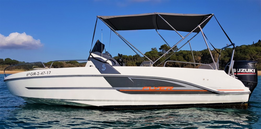 Rental yacht Palamós - Bénéteau Flyer 6.6 SPACEdeck on SamBoat