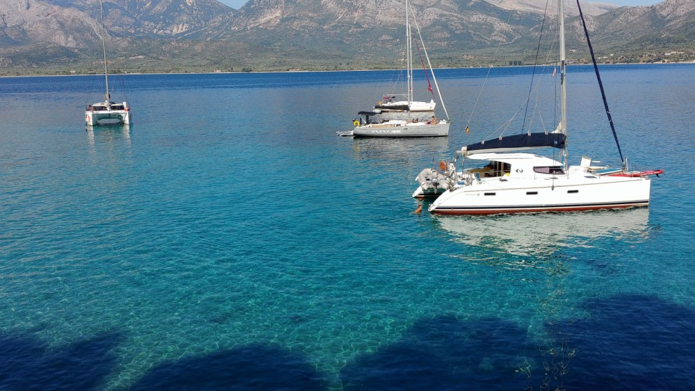 Hire Catamaran with or without skipper Nautitech Attica