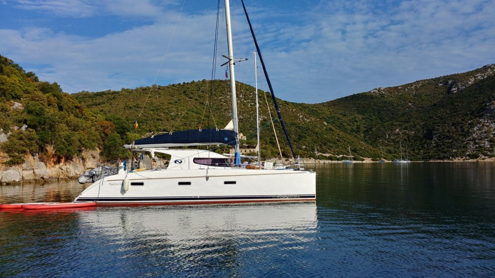 Catamaran for rent Attica at the best price