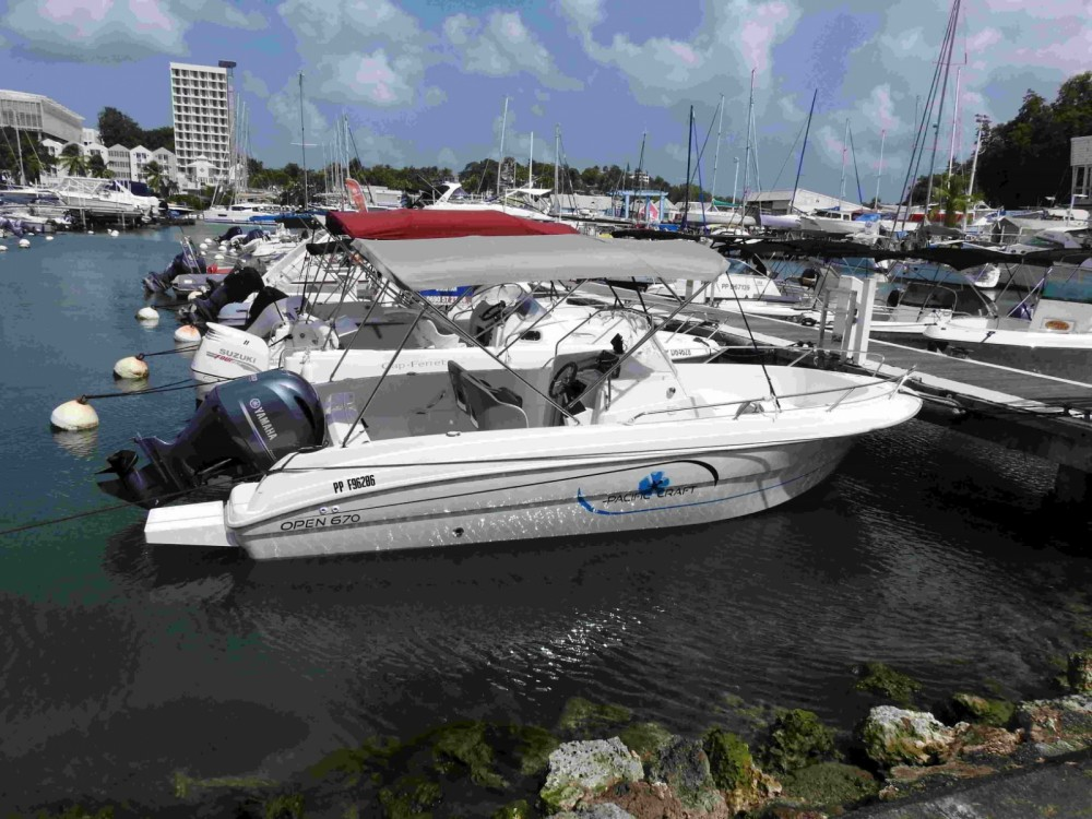 Rent a Pacific Craft Pacific Craft 670 Open Le Gosier