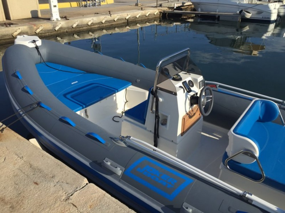 Joker Boat Clubman 21 between personal and professional Hyères