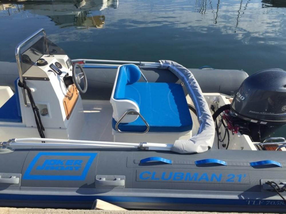 Boat rental Hyères cheap Clubman 21
