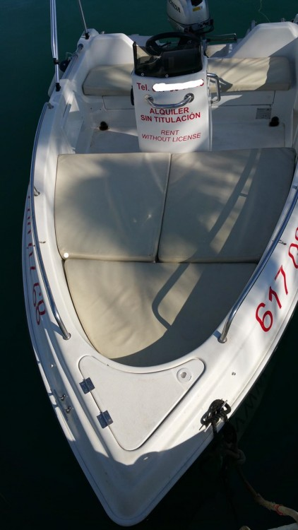 Motor boat for rent Sitges at the best price