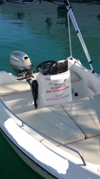 Rental Motorboat Shiren with a permit