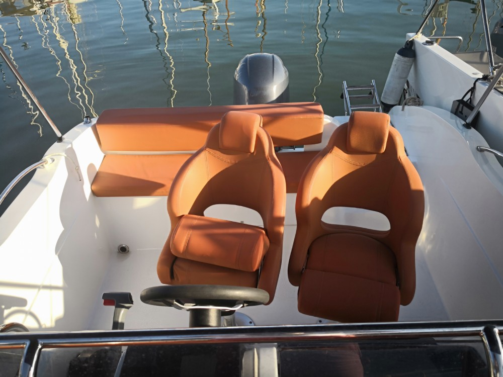 Boat rental Okiboats Barracuda 545 in Sitges on Samboat