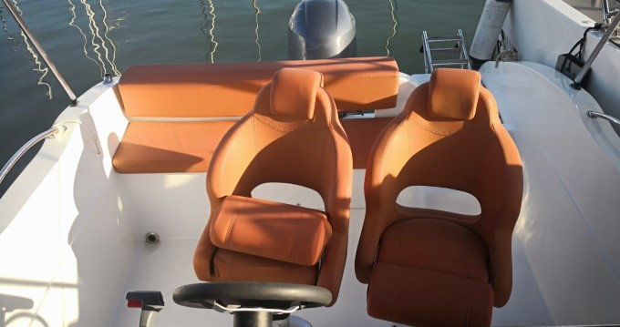 Rental Motorboat in Sitges - Okiboats BARRACUDA 545