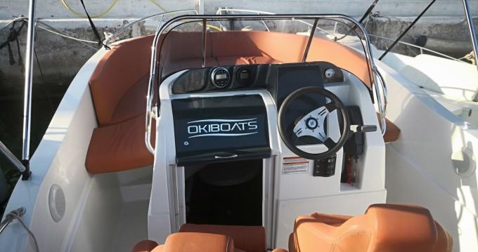 Rental yacht Sitges - Okiboats BARRACUDA 545 on SamBoat