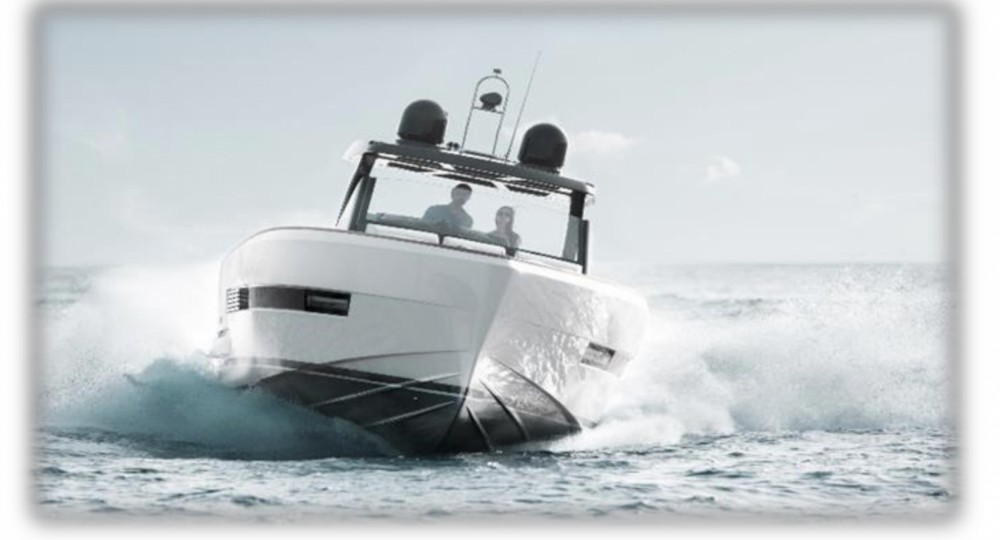 Rental Motor boat Fjord with a permit