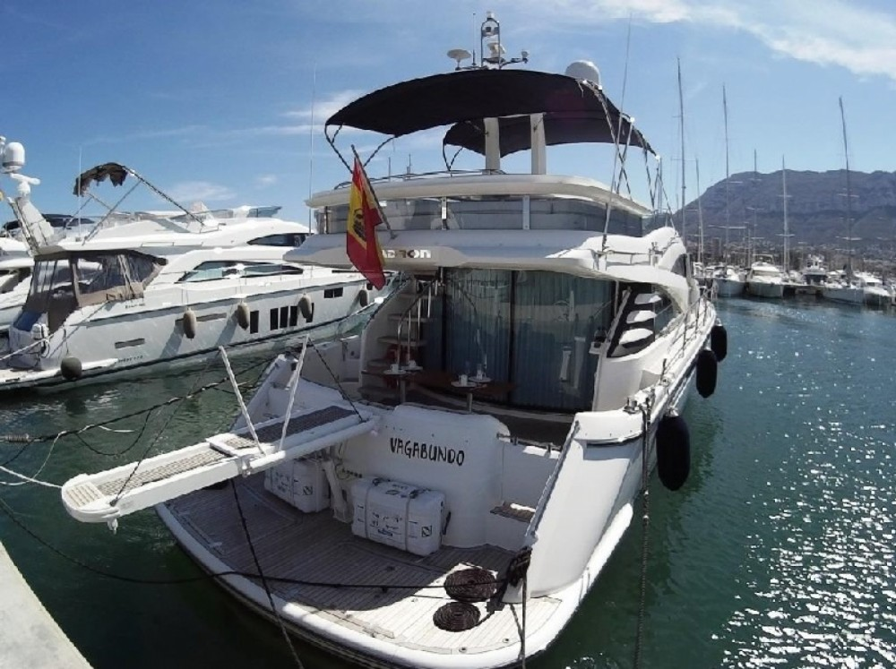 Rental yacht Dénia - Fairline Squadron 58 on SamBoat