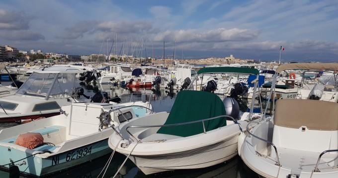 Rental yacht Antibes - Jeanneau Cap Camarat 5.5 WA on SamBoat