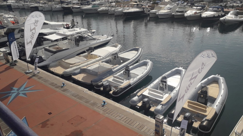 Hire RIB with or without skipper Sunsea Palermo