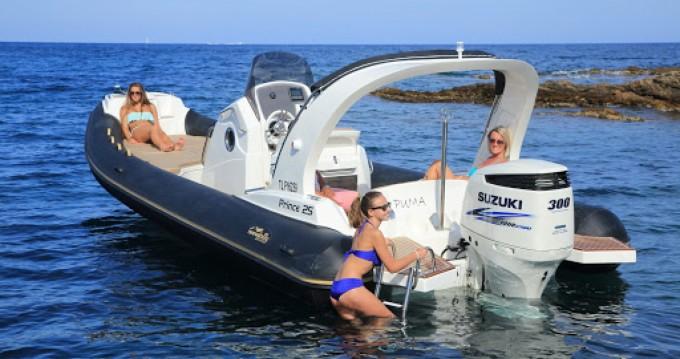 Rental yacht Cogolin - Nuova Jolly Prince 25 on SamBoat