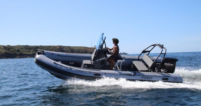 Boat rental Zodiac Pro 6.5 in Port-Louis on Samboat