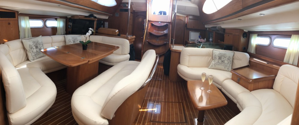 Jeanneau Sun Odyssey 54 DS between personal and professional Sant Antoni de Portmany