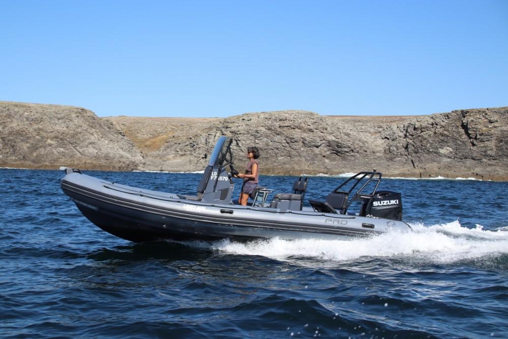 Boat rental Lorient cheap Pro 7