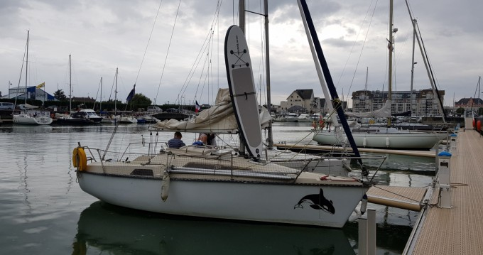 Rental Sailboat Ultramar with a permit