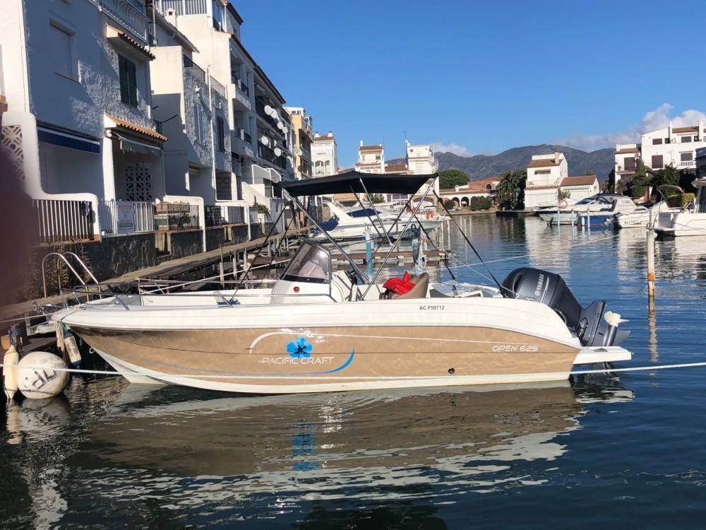 Boat rental Castelló d'Empúries cheap Pacific Craft 625 Open