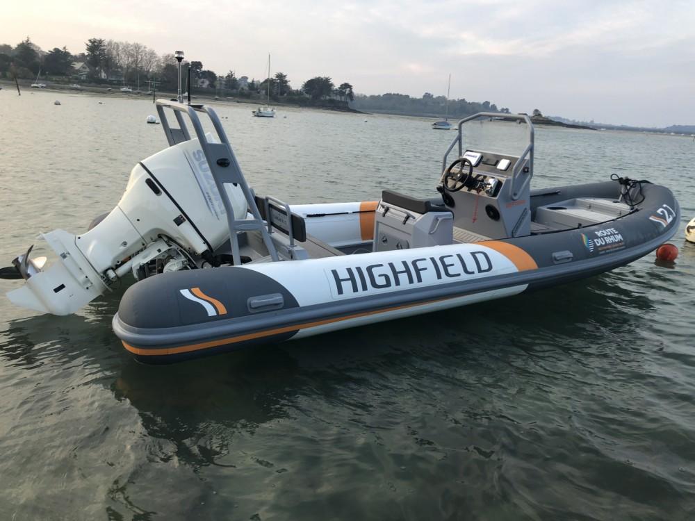 Boat rental Highfield Patrol 660 in Dinard on Samboat