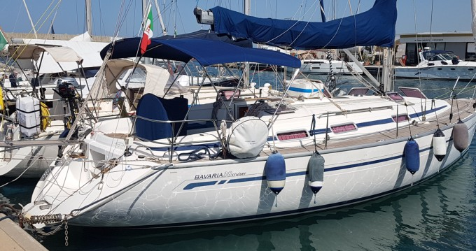 Sailboat for rent Civitavecchia at the best price