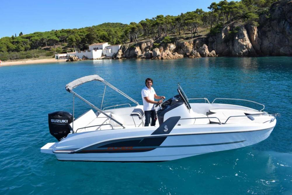 Boat rental Palamós cheap FLYER 6.6 SPACEDECK