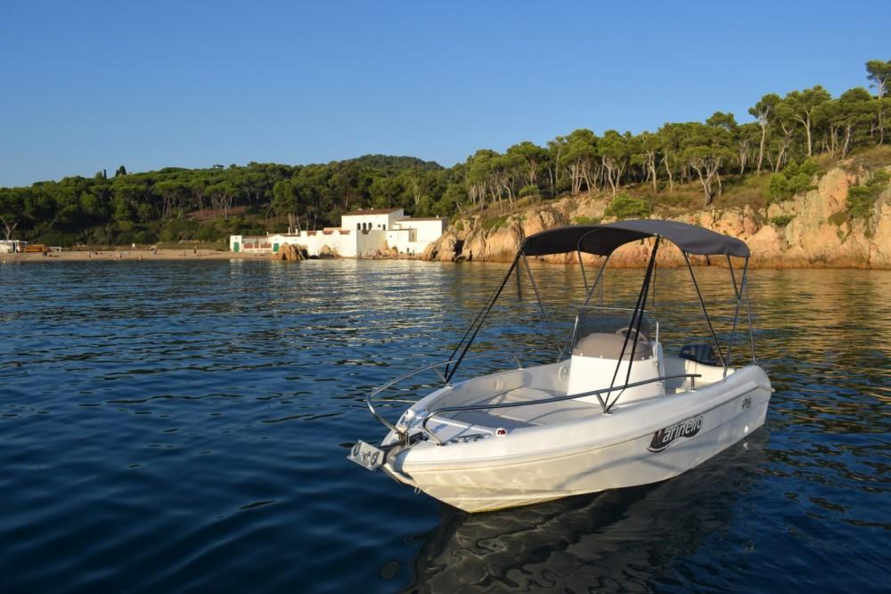Rental Motor boat in Palamós - Marinello Happy Fishing Open