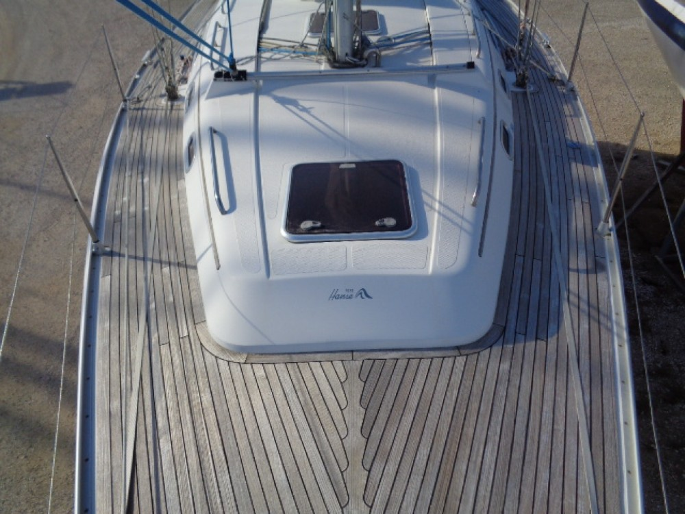 Hanse 400 between personal and professional Toulon