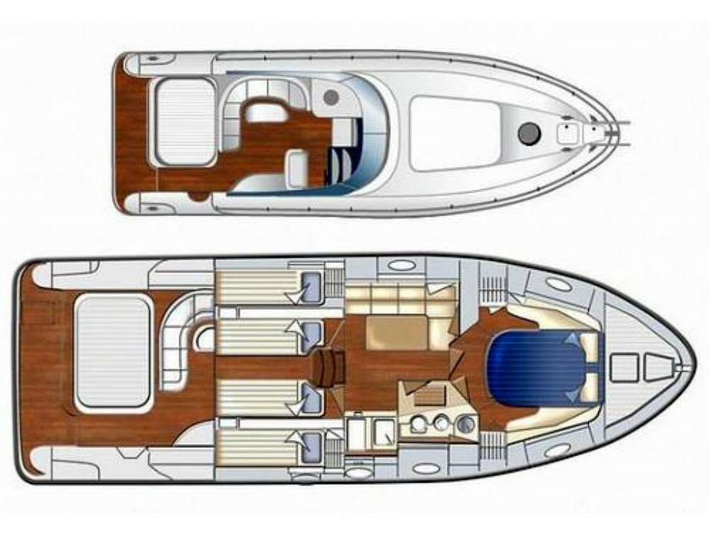 Hire Motorboat with or without skipper Mano Marine Gallipoli