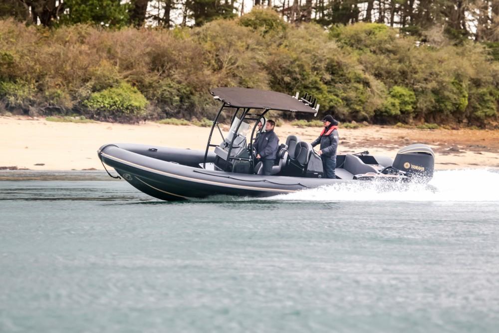 Rental Motorboat in Arzon - Rib RIBWEST CARBON 8M