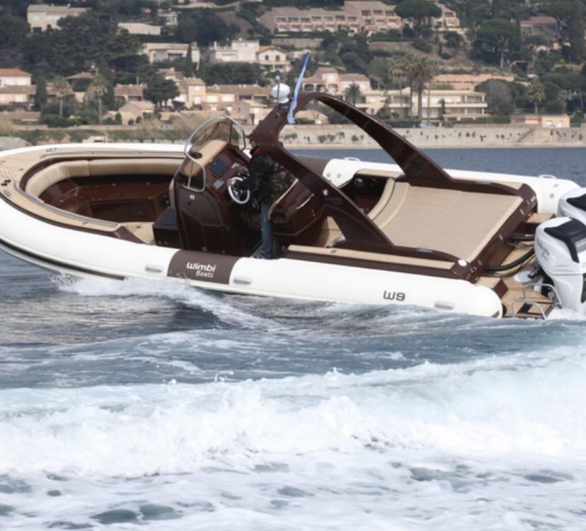 Rental RIB in Fréjus - Wimbi Boats W9