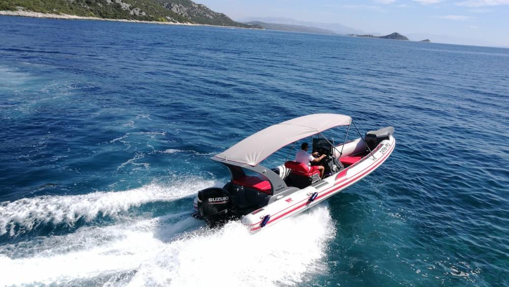 Boat rental Trogir cheap Tiger Marine Top Line 750