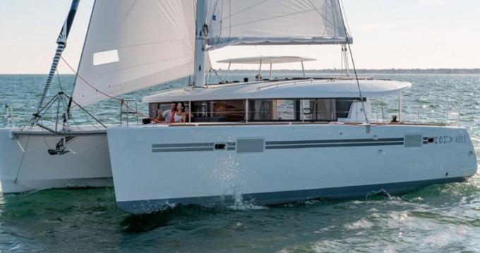 Boat rental Dénia cheap Lagoon 450 Sport Top