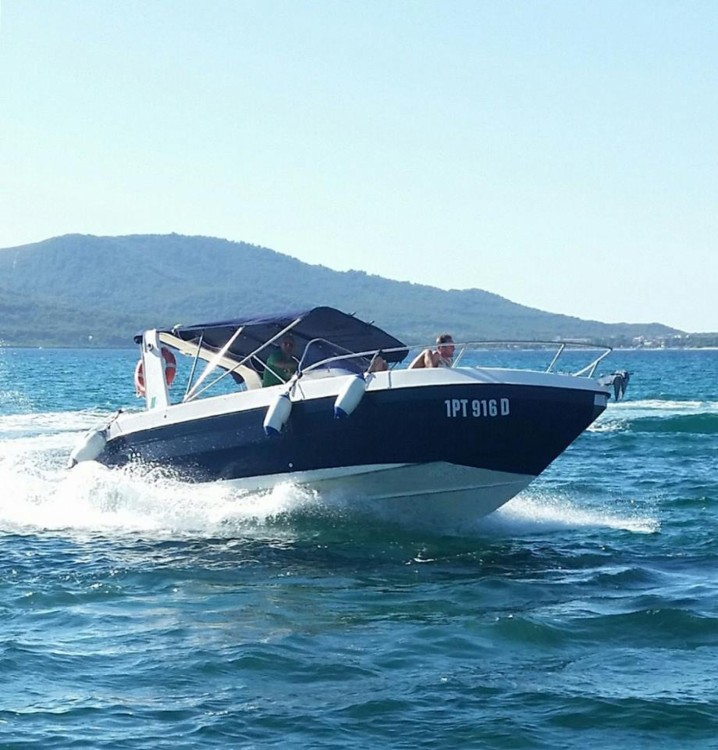 Rental Motor boat Mano Marine with a permit