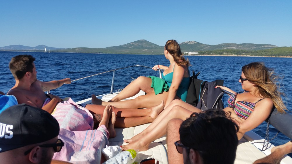 Hire Motor boat with or without skipper Mano Marine Alghero