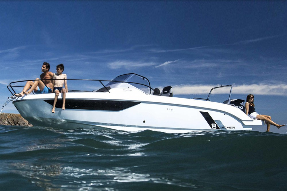 Rental yacht Palamós - Bénéteau Flyer 8 SUNdeck on SamBoat