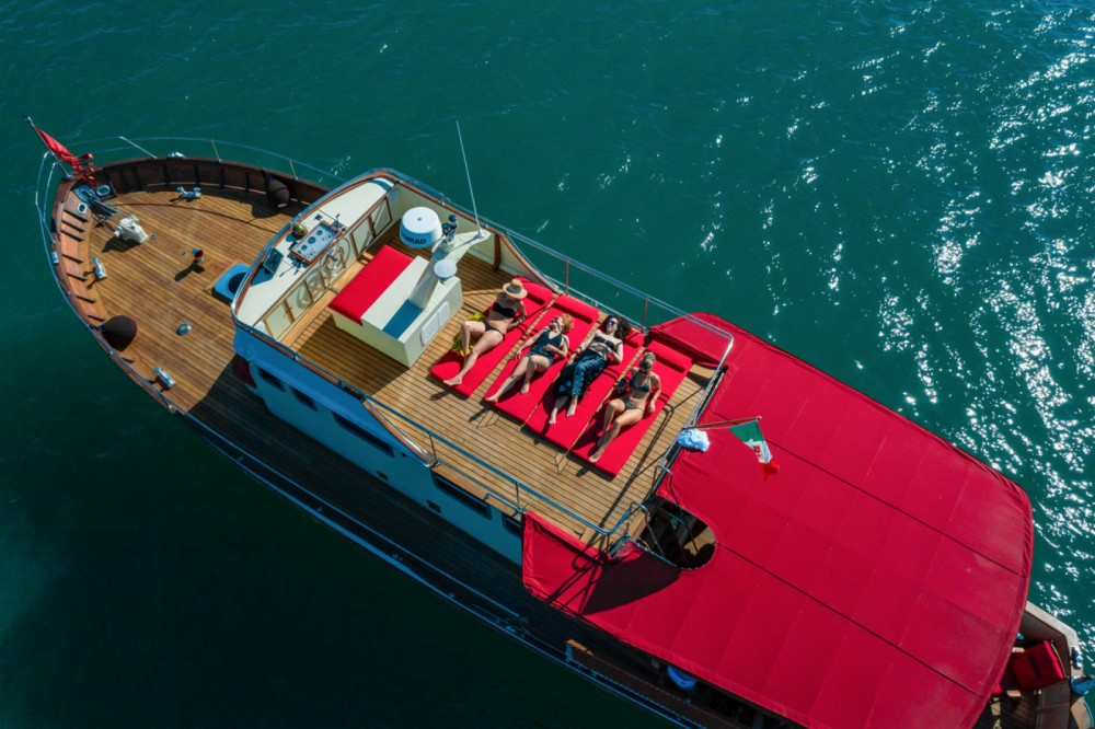 Trawler 64 between personal and professional Triest