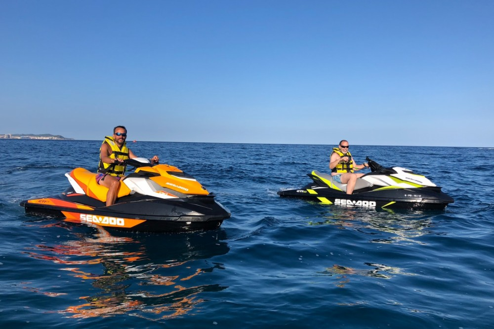 Jet Ski for rent Palamós at the best price