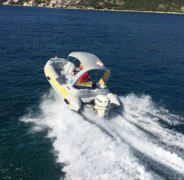 Hire RIB with or without skipper Inmark-Marine Trogir