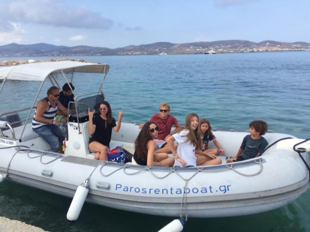 Rental RIB in Aegean - Eurorib  6.45