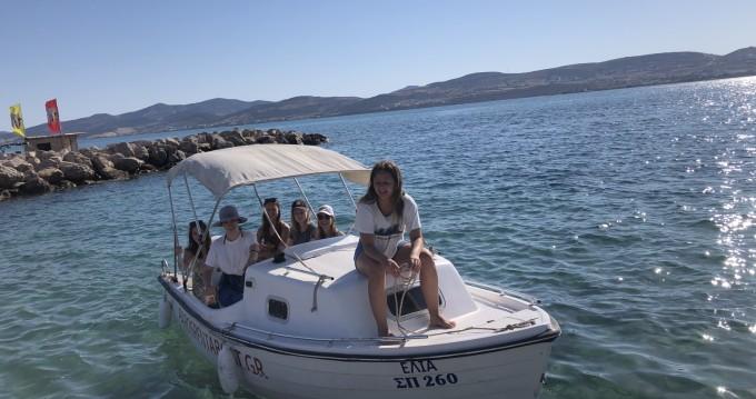 Boat rental Greco marine Semi cabin in Paros Island on Samboat