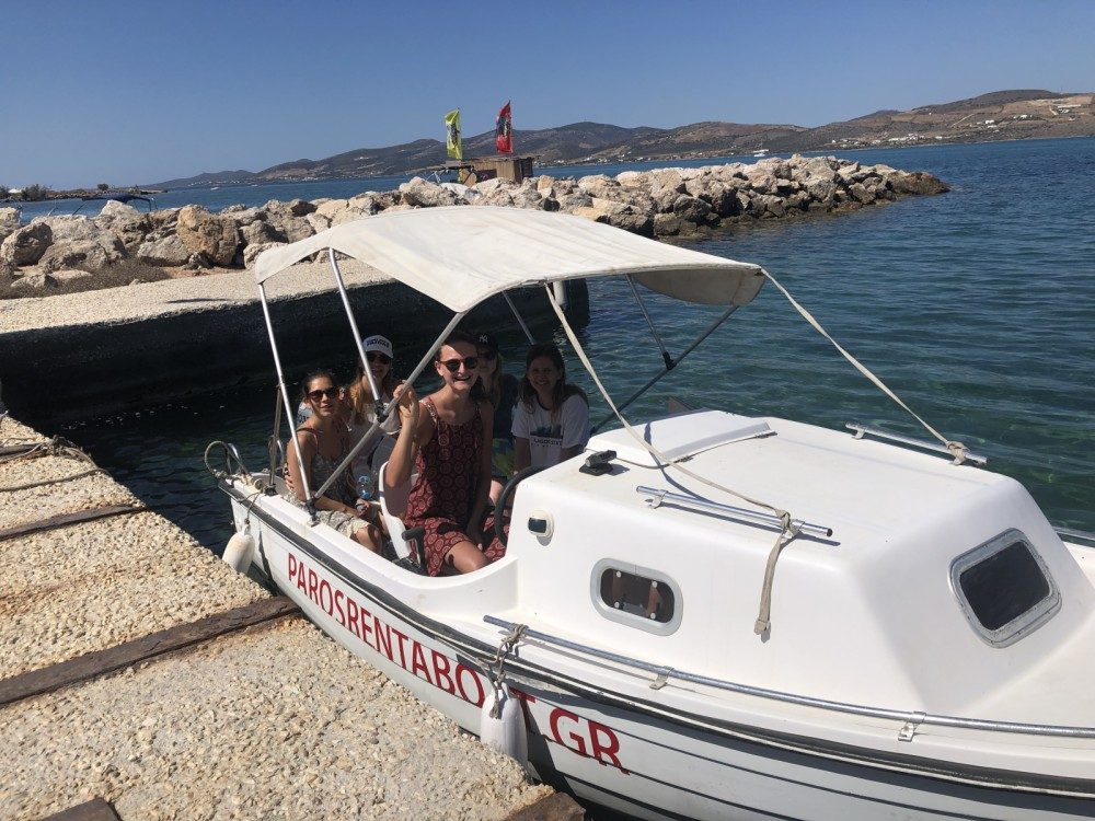 Boat rental Aegean cheap Semi cabin